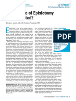 Restricted Episiotomy