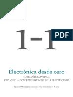 DC - Sec. 1 - Conceptos Básicos de La Electricidad