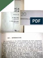 Díaz Peña, Química Física, Vol II, Cap 20 Disoluciones Ideales