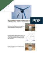 Step by Step DIY Windmill Plans