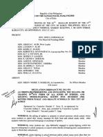 Iloilo City Regulation Ordinance 2011-591