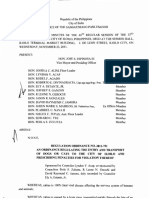 Iloilo City Regulation Ordinance 2011-751