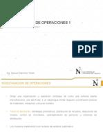 3. Investigacion de Operaciones