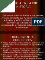 Historia de La Cirugía I