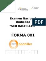 !Examen Nacional Unificado 001