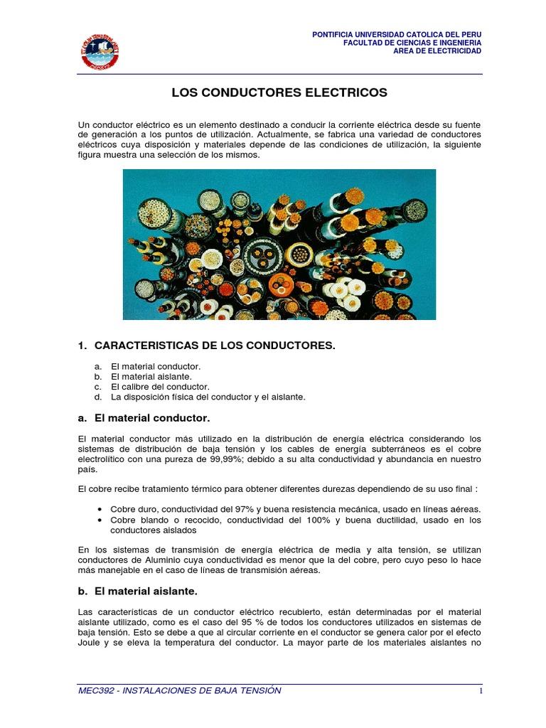 MEC392 - Los Conductores Electricos