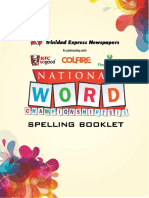 Spelling Bee Booklet