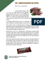 Chocolate-like Falling in Love