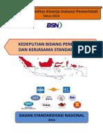 Laporan Kinerja 2014 1 Deputi PKS1