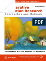 Comparative Education 2 Ed Research Approaches and Methods