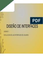 1.1 - Evolución de Las Interfaces