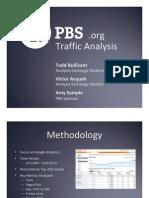 Analysis Exchange Example PBS Web Analytics