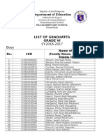 Combine Grade Six 2016-2017