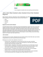 Artikel Kesehatan_ Jenis Jenis Obat Anestesi Lokal, Anestesi Umum Dan Anestesi Regional.pdf
