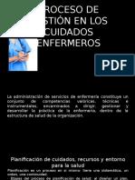 Proceso de Gestión en Los Cuidados Enfermeros