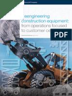 Reengineering Construction Equipment