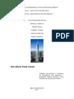 One World Trade Center - Trabalho