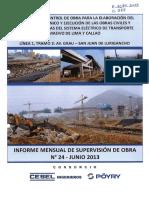 Informe Mensual 24 Junio 2013