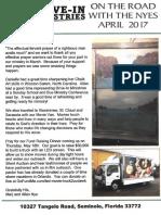 Nye Newsletter April 2017