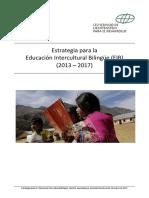 Estrategia Para La Educación Intercultural Bilingüe (EIB)