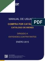 Manual SOCE - Catálogo de Bienes - Entidades Contratantes