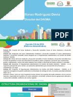 Presentación DAGMA - Estructura Organizacional 25-03-17