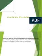 3.- Evaluación Del Páncreas