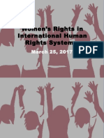 Women's Rights in International Human Rights Systems