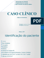 Caso Clínico Nutrição clínica Gestante J.G.S