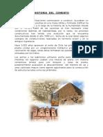 Informe Historia Del Cemento