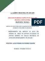 Ing Agricula Propuesta Tecnica Economica ...............Ok