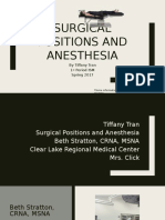 surgical positions and anesthesia  1   1