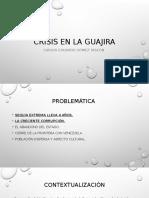 Crisis en La Guajira