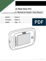 Manual Usuario Yale Real View PRO