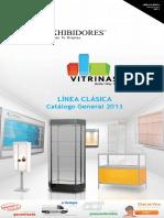 2013 Linea Clasica - Vitrinas y Exhibidores