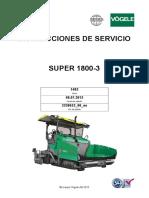 Manual de Operacion y Mantenimiento VOGELE 1800-3.en Español