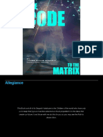 168185230 the Code to the Matrix Silver Edition