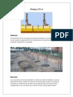 Fundaciones Indirectas Hormigonadas in Situ Con Camisa Recuperable