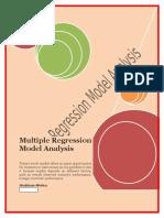 Multiple Regression Model Analysis