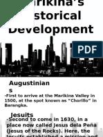 Marikinas Historical Development