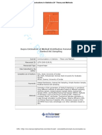 Peer Review 9-5-09.PdfBayes Estimation Of
