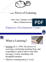 Ix Power of Listening