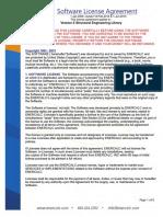 ENERCALC License Agreement