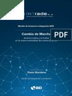 Monitor de Comercio e Integracion 2016 Cambio de Marcha America Latina y El Caribe en La Nueva Normalidad Del Comercio Global