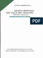 Aportación al poblamiento Islámico y a los efectos de la Conquista Cristiana dels Capdets y Bogarra