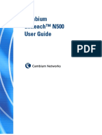 CnReach N500 User Guide 11162016