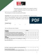Survey Question Shwapno
