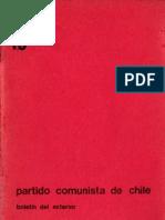 Boletín del Exterior Partido Comunista de Chile Nº18