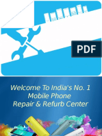 Welcome To India's No. 1 Mobile Phone Repair & Refurb Center