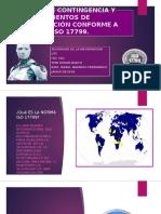 Tema 5 Planes de contingencia y procedimientos de recuperación conforme a guías de ISO 17799.pptx
